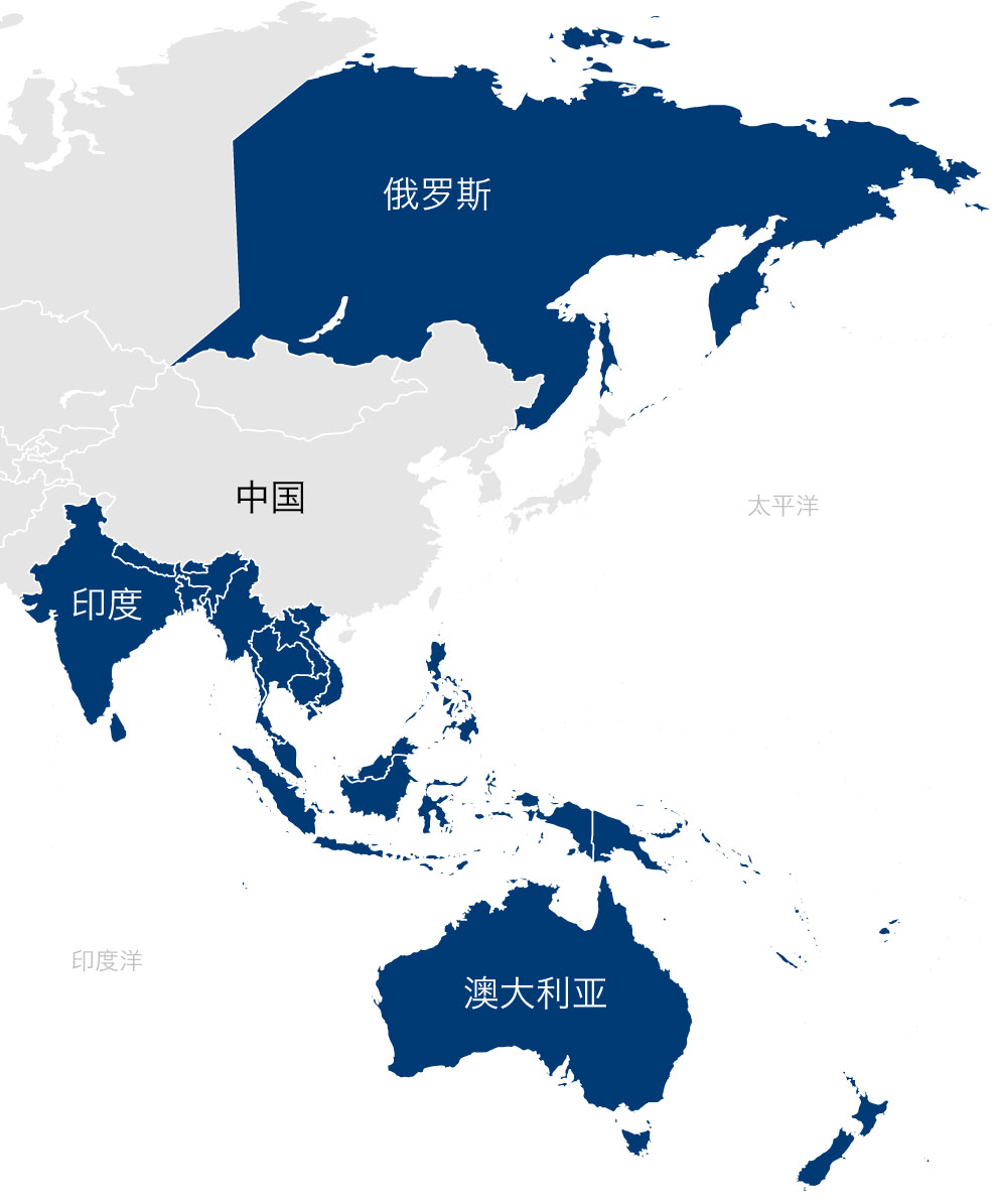 DALSORB South Asia Pacific & East Russia